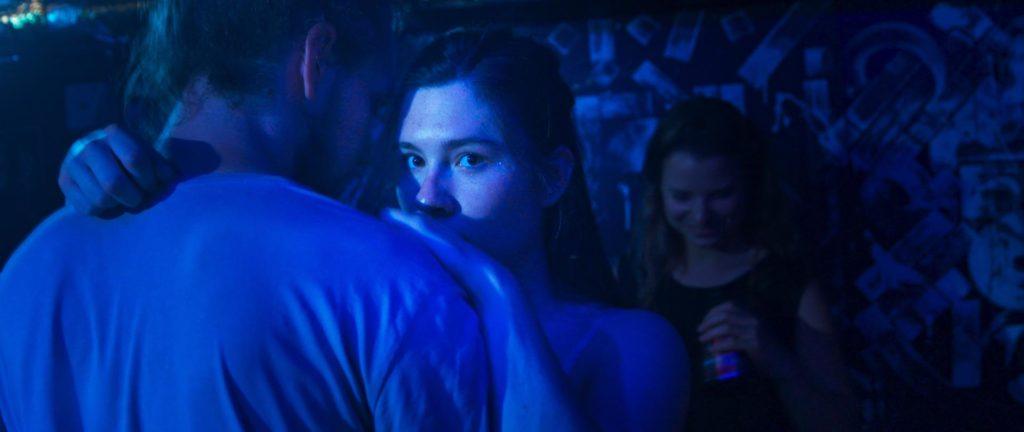 Tamara Theisen in Fluten (Regie: Georg Pelzer) - Filmstill