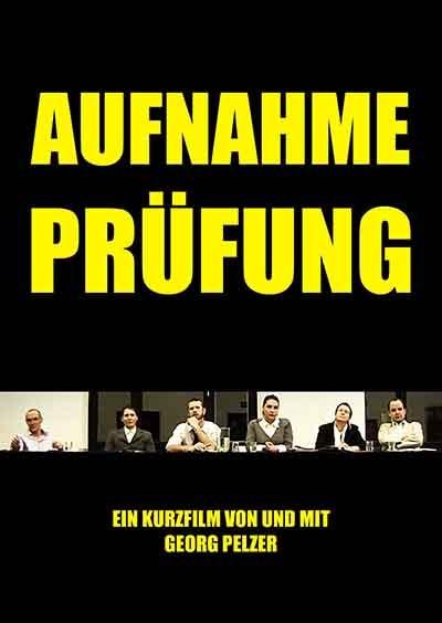 Aufnahmeprüfung (R: Georg Pelzer) - Filmplakat