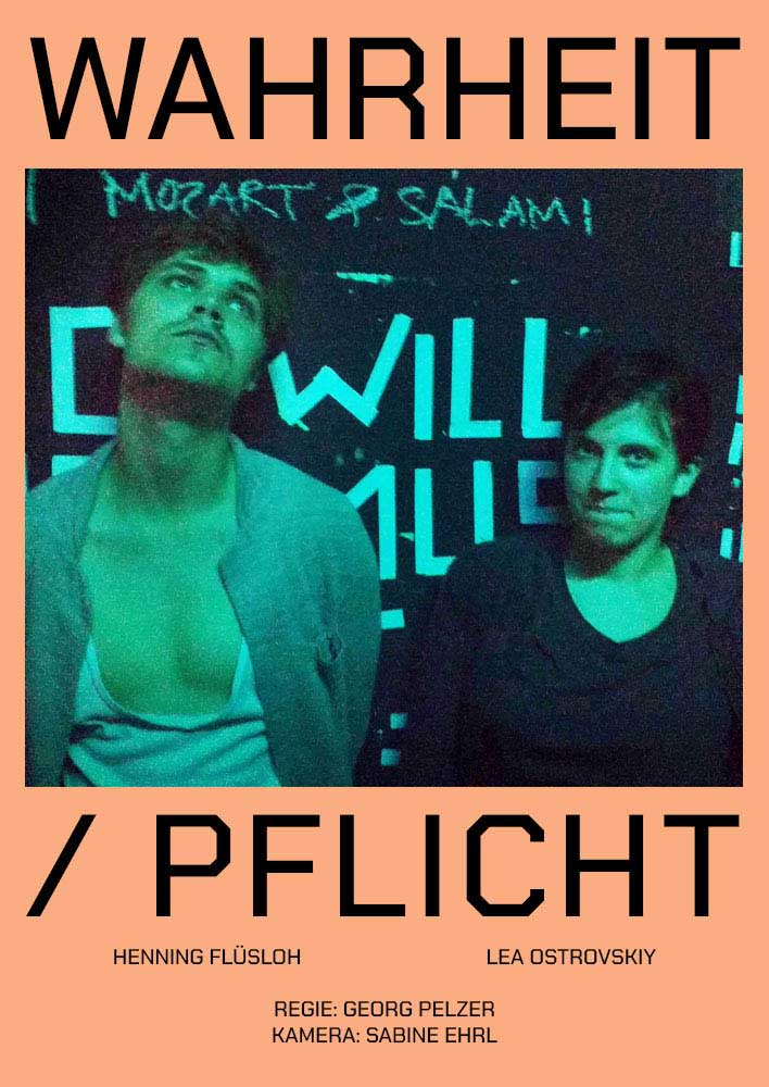 Filmplakat Wahrheit/Pflicht (Regie: Georg Pelzer)
